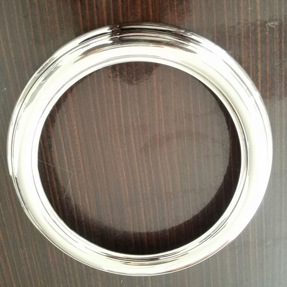 供应塑胶水电镀厚镍拉丝加工