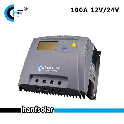 SK100D太阳能充放电控制器LCD显示屏10A12/24V