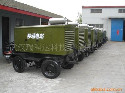 厂价供应移动拖车柴油发电机组
