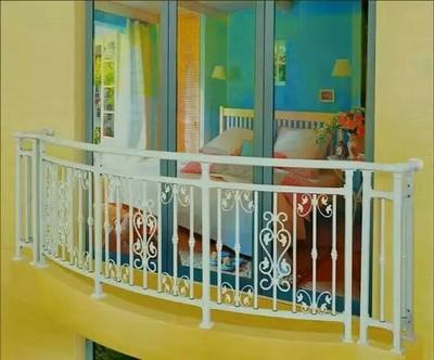 铁艺锌钢阳台栏杆阳台护栏镀锌阳台护栏