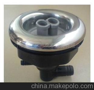 供应按摩浴缸5寸多功能(不锈钢面盖)喷嘴,按摩浴缸喷嘴及配件