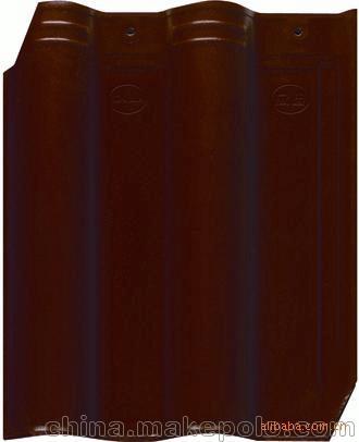 诚信工厂提供优质陶瓷琉璃瓦 300x400mm