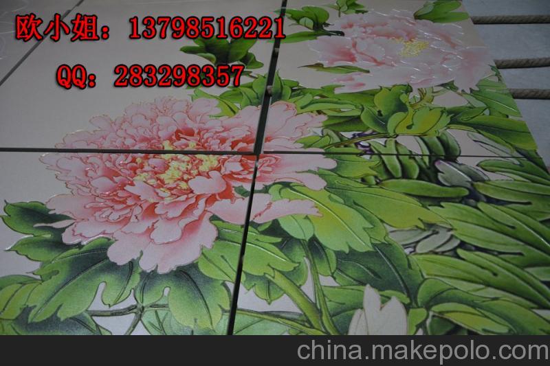 瓷砖喷墨打印机-电视陶瓷瓷砖背景墙喷绘机