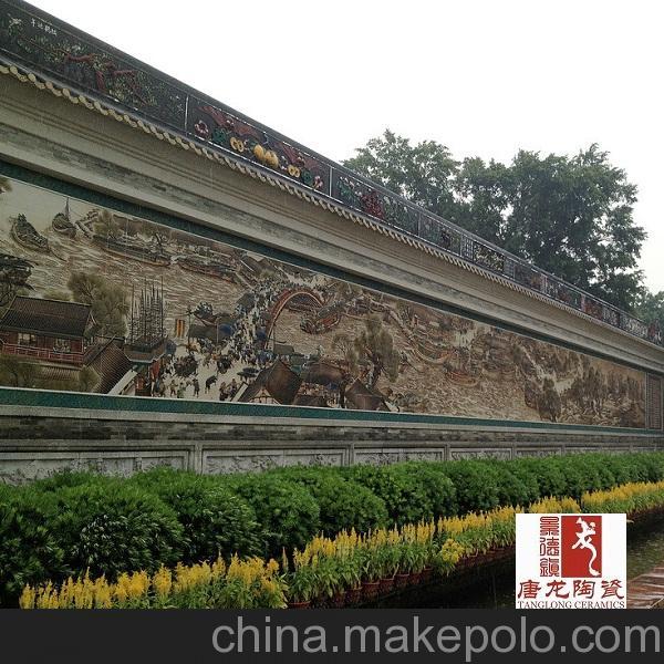 影壁墙瓷砖定做 陶瓷瓷砖生产厂家
