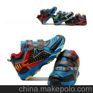 中国好童鞋 学生运动鞋长耳朵小狗图案网面运动鞋时尚闪灯M-1