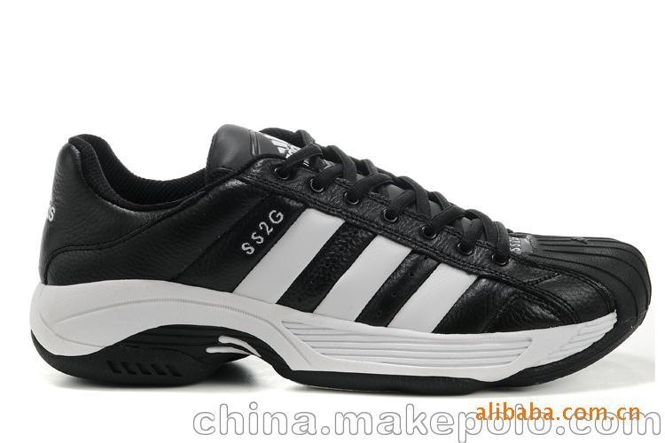 运动鞋批发 2011热卖新款阿迪达斯ADIDAS 0812 1:1头层皮男跑鞋