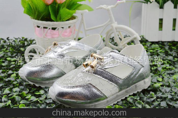 2014 时光机 新款 童鞋 时尚休闲韩版潮流运动鞋 水晶鞋底童鞋