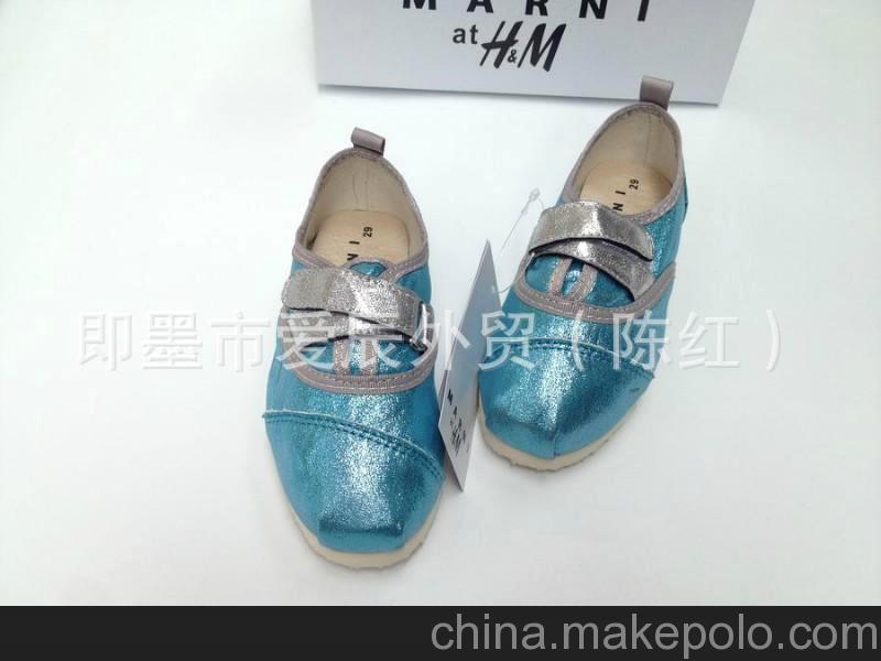 tx1308原单金沙面超柔软鞋底轻薄透气魔术贴 童鞋