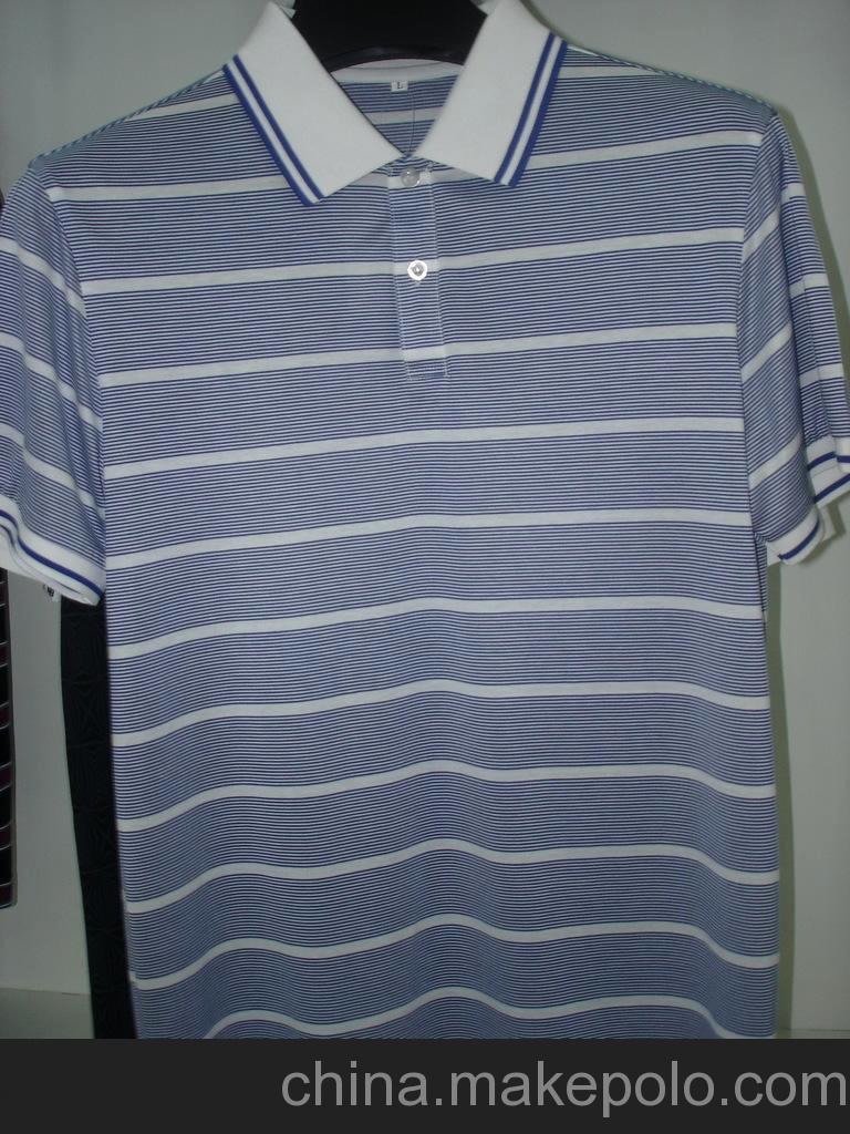 红鹏服装 生产订做全棉丝光棉T恤 针织服装 男式T恤短袖1