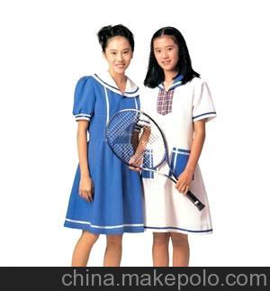 制衣厂 定制校服 校服裙 韩版校服 针织校服 针织服装A-1