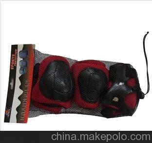 轮滑护具 加厚高地雷护具 运动护具组合 儿童护具 溜冰鞋护具配件