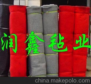 厂家生产 彩色化纤毡/彩色涤纶毛毡布/箱包用彩色化纤毡