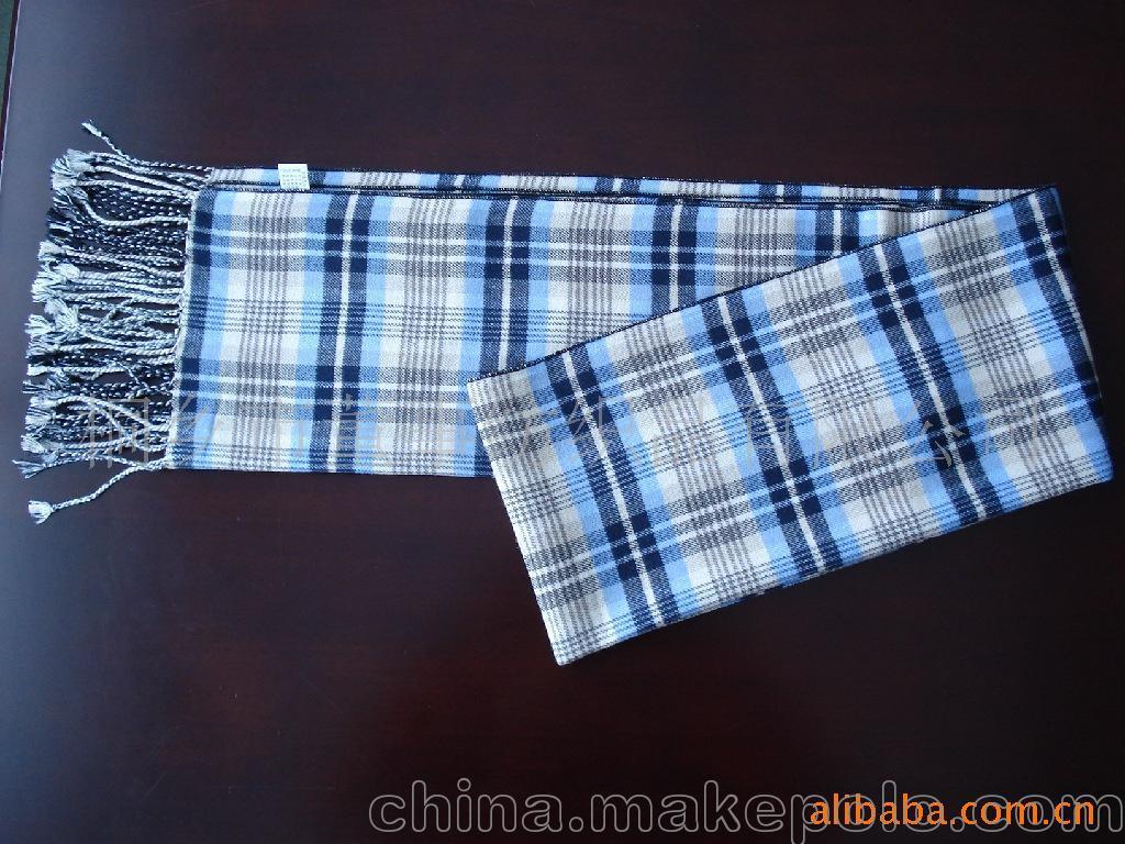 加工生产桑蚕丝绒围巾2条起