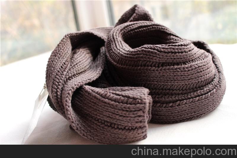 原单大牌潮牌欧美范儿angry minds 超大围巾2米长 外贸棉线围巾