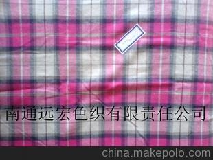 厂家批发 衬衫面料全棉 衬衫纺织面料色织衬衫面料