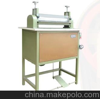 广州厂家直销皮革机械加工设备12寸压平机 抽条机 拉带机