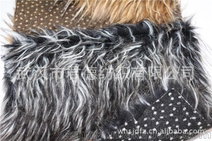 麂皮绒复合人造毛皮