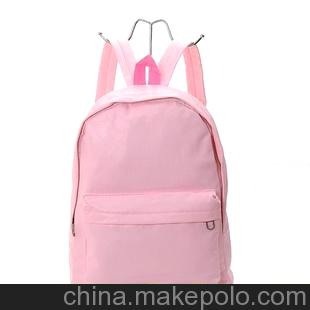 可爱甜蜜混色搭配双肩韩版 女生 双用背包 学生包6621#