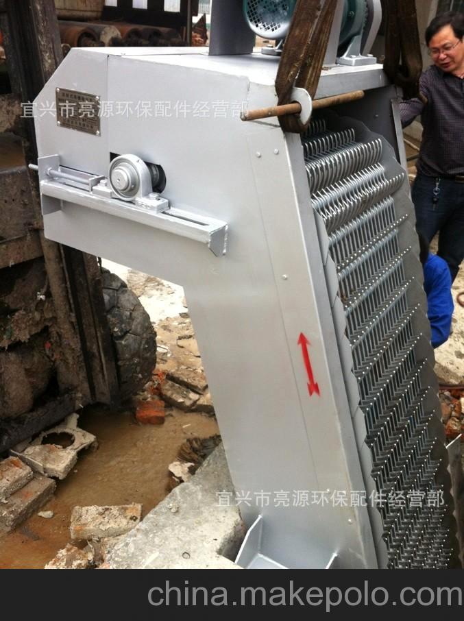 宜兴亮源环保机械格栅专业制造商 在浙江杭州金辉纸业施工现场