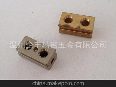 温州诚信企业 供应铜接线柱 铜端子 电器配件 仪器仪表配件