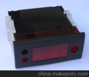 供应温度仪表PVC塑料外壳 3位按键塑胶外壳