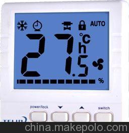 供应热泵型温控器,单级热泵带1路辅热系统