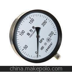详询请来电 厂家供应仪器仪表 普通压力表 上瀛耐震表