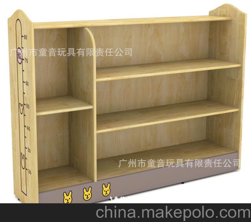 幼教家具 幼儿园家具 儿童家具-双面防火板书包柜,橡木造型书包柜