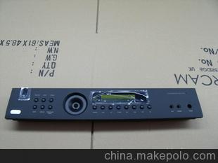 机加工冲压喷漆丝印音响铝面板,音响配件、音响支架、影音配件
