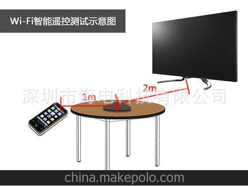 厂家直销IPTV遥控器无线键鼠遥控器影音配件红外学习遥控器