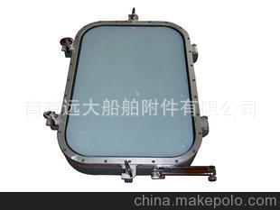 优质直销 供应焊接式开启矩形窗船舶舾装件