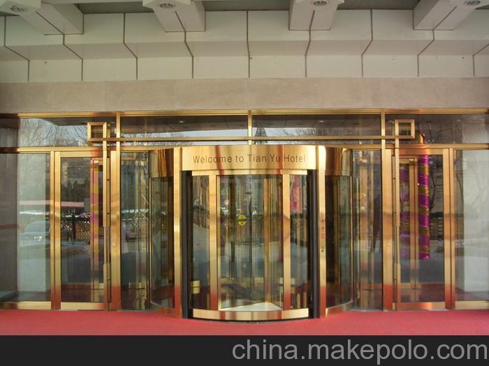 供应天津广电总局 两翼旋转门 凯必盛亚洲最大自动门厂商全国销售