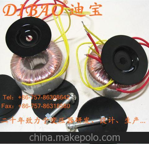 批量生产母带级录音设备环形变压器 低磁干扰