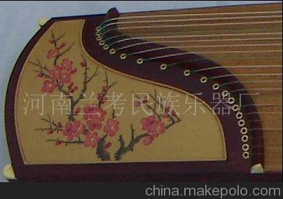 特价古筝 绢画古筝 河南兰考乐器厂招商 量大可定做
