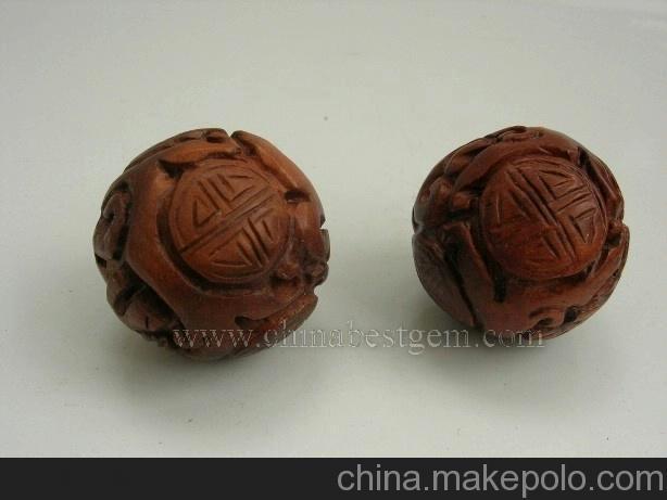 健身礼品/木雕手球/木雕健身球/生日礼品(送长辈)