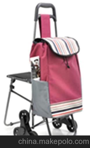 购物车 行李车爬楼梯+椅子 6轮休闲系列 HL-2-6GG-1