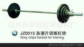 河北沧州厂家生产 举重用品系列 运动体育用品 全包胶杠铃