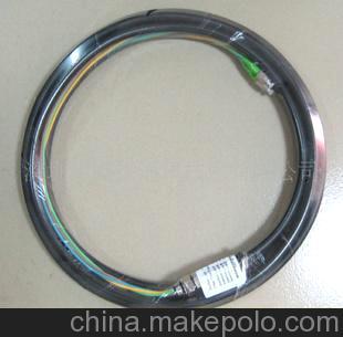深圳厂家供应广电用高品质双芯/四芯单模FC/APC防水尾缆