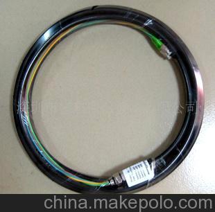 供应广电用高品质双芯/四芯单模FC/APC防水尾缆