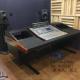 广播机房家具音频控制台,音响支架,调音工作台