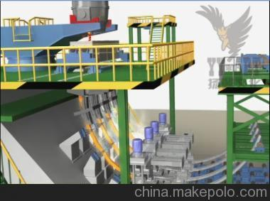 冶金工业连轧连铸工艺设备模拟动画视频专业制作