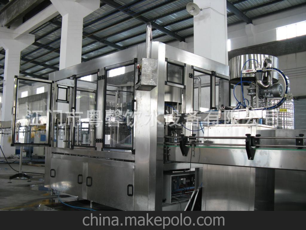 三合一灌装旋盖机 饮料机械设备 饮品灌装生产线设备 多头灌装机