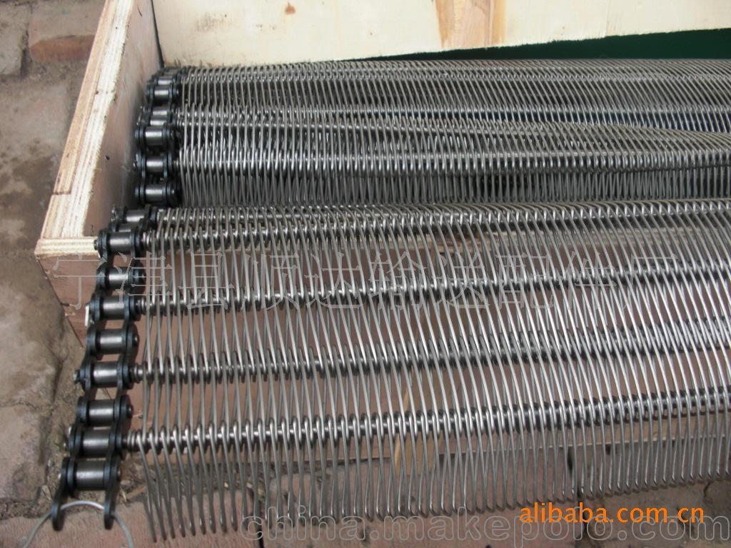 进口糖果机械不锈钢网带,超平金属输送带