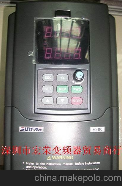 糖果机械用变频器维修销售SUNFAR  E380变频器