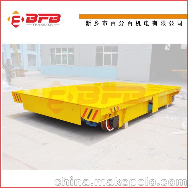 运输工程机械用蓄电池供应轨道平车 KPX-30T轨道电动转运车价格