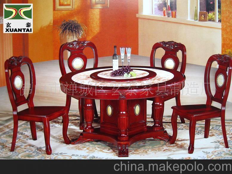 厂家直销大理石餐桌,大理石圆桌,石材家具,高档餐桌