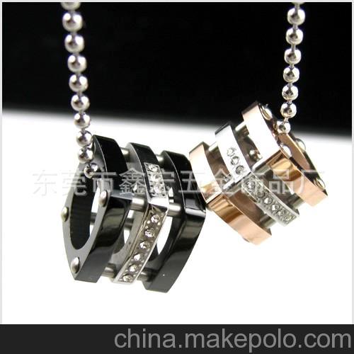 304 316L不锈钢吊坠流行首饰 项链配件 珠宝首饰配件