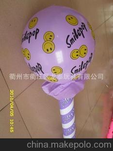 厂家直销,质优价优)儿童充气棒 打击充气棒 PVC充气玩具制造