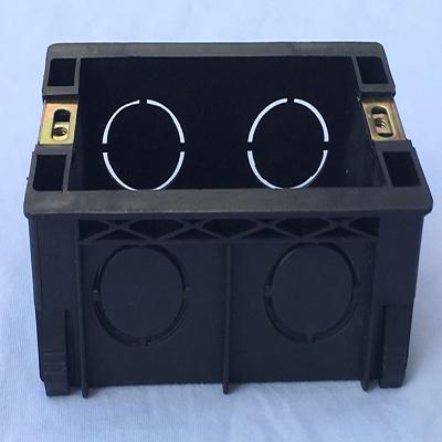 汉丰达塑料-118型黑色二、三、四位线盒、底盒