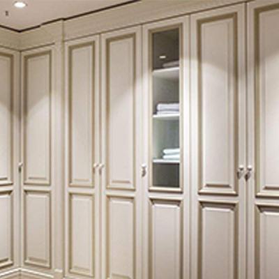铭堂饰家:现代简约风格全房衣柜--2人团